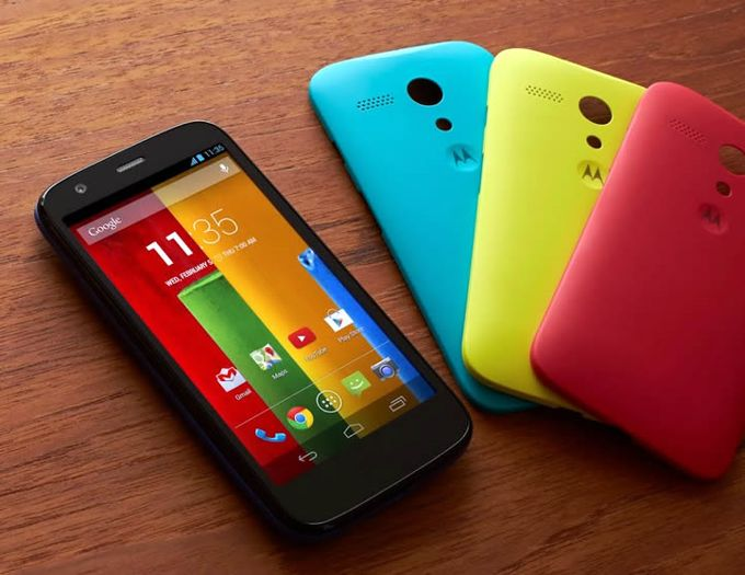 Moto G Android 4.4.2