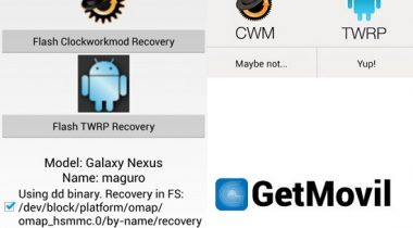 Recovery-CWM-TWRP