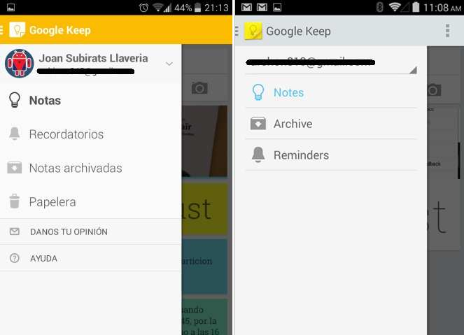 google keep android 1