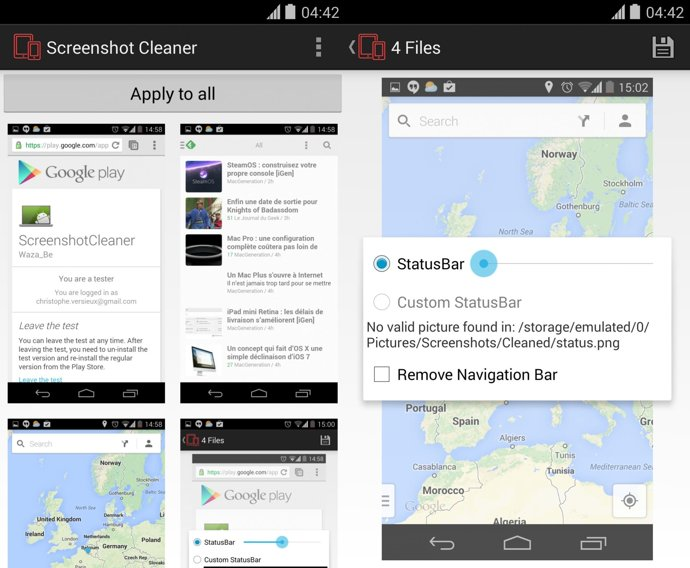 screenshot capture android