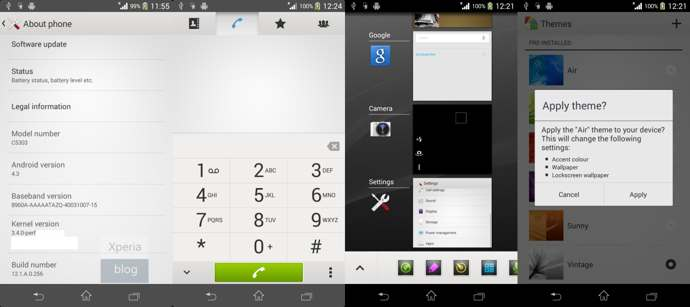 android 4.3 xperia sp