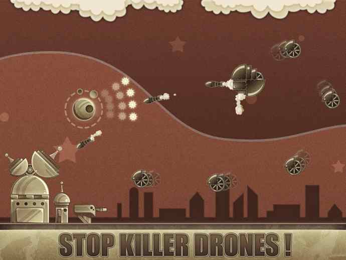 evil moon steampunk defense android