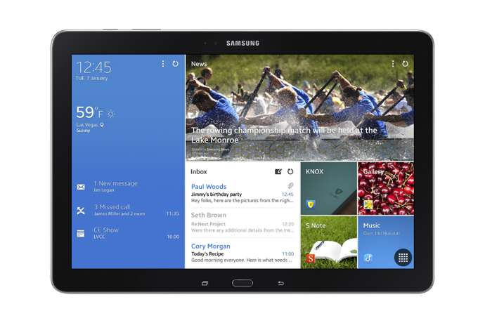 galaxy tab pro 12.2 android
