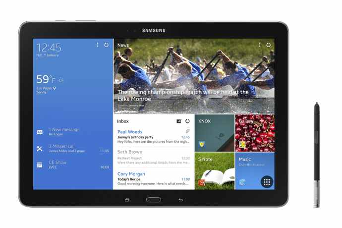 galaxy note pro 12.2 android