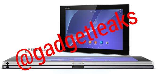 xperia tablet z2 android