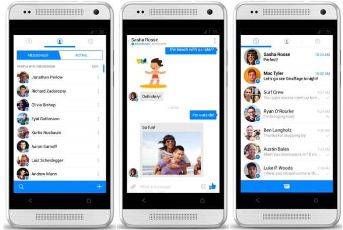Facebook Beta Android
