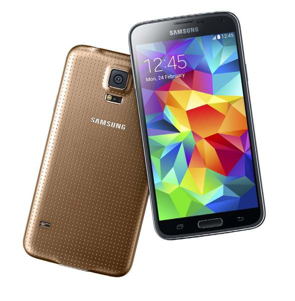 galaxy s5 gold android