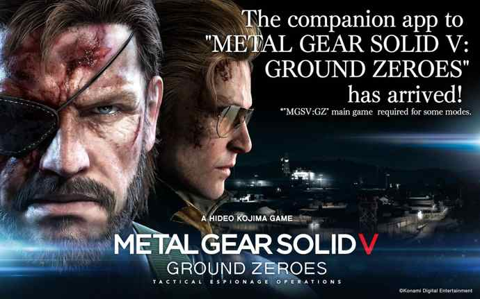 metal gear solid v gz android