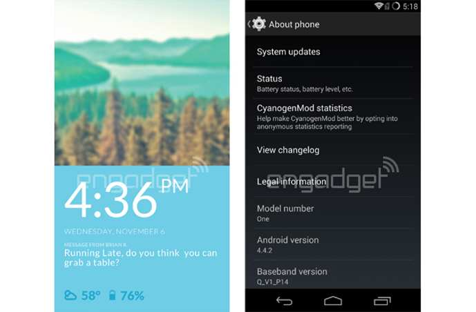 oneplus one android