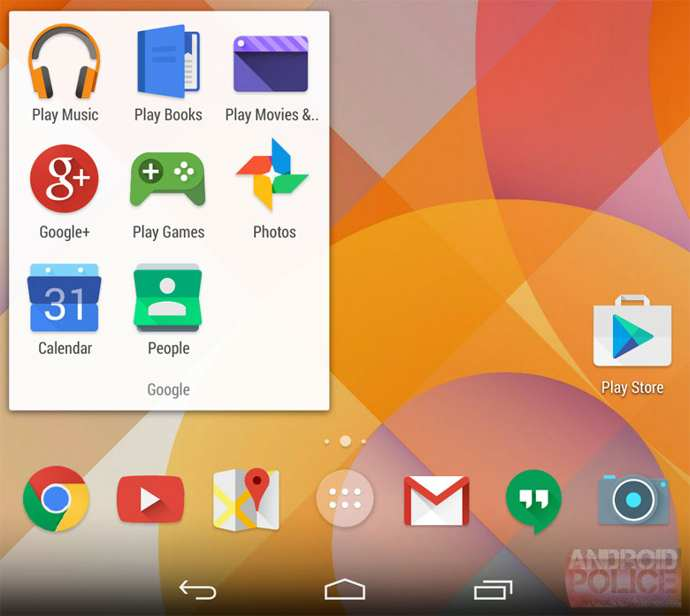 android 4.5 iconos