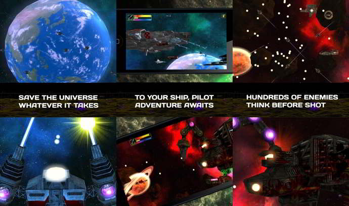 exodite space action shooter android