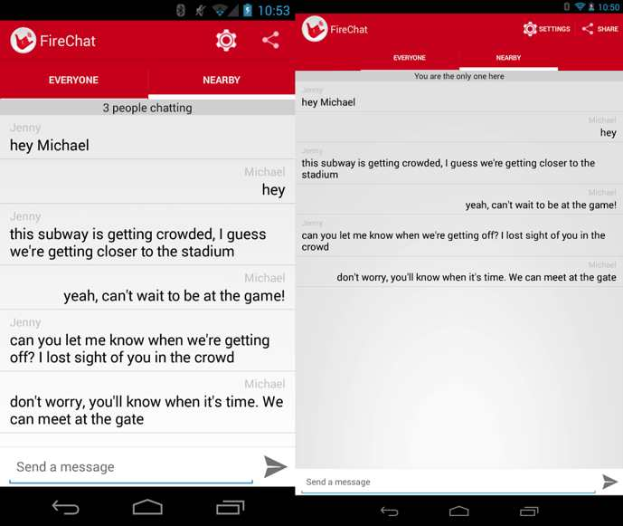 firechat android