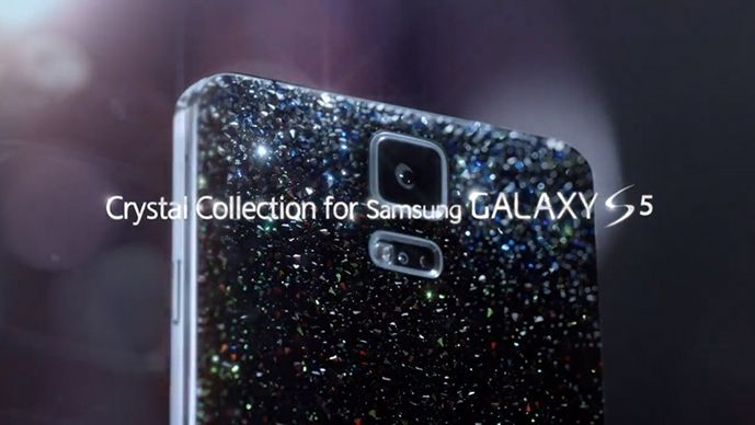 galaxy s5 crystal collection android