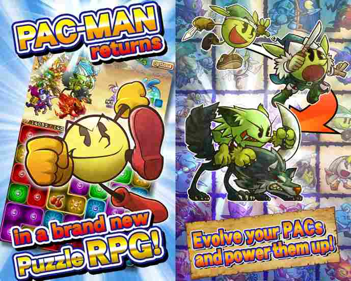 pac-man monsters android