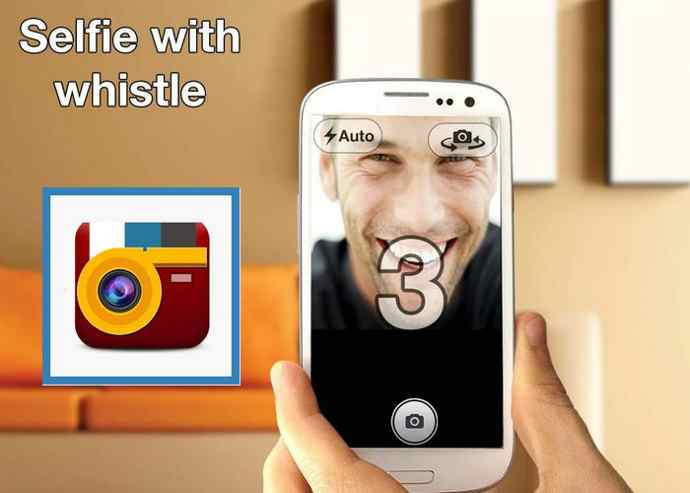 whistle camera android
