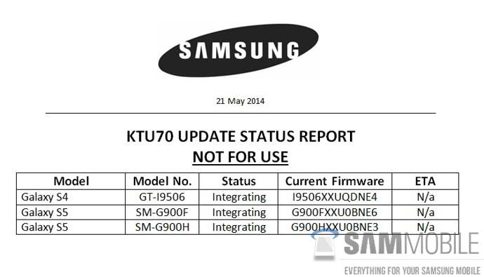 android 4.4.3 kitkat galaxy s5 s4 lte-a