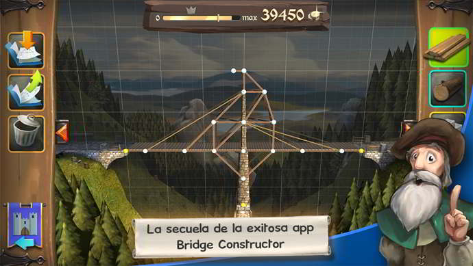bridge constructor medieval android