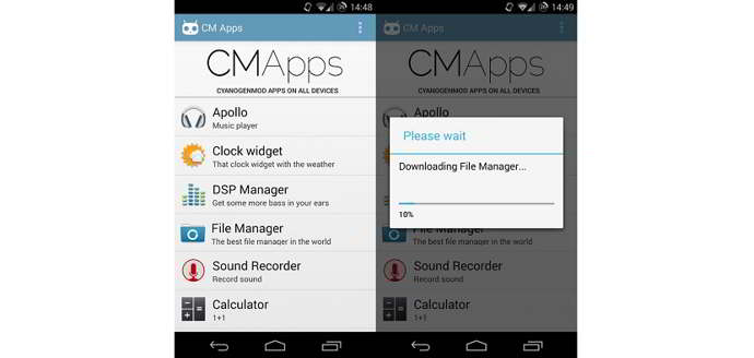 cm apps android