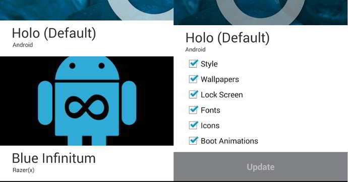 cyanogenmod theme chooser android