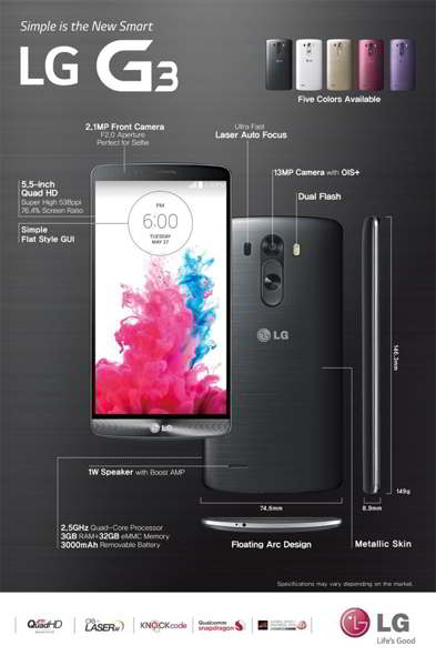 lg g3 android