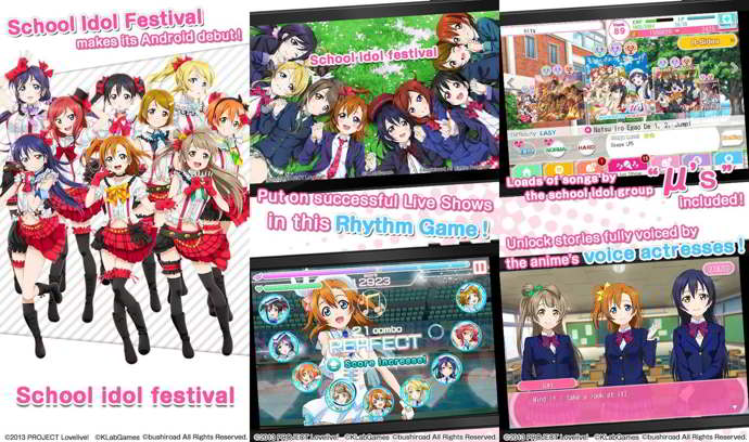 school idol festival android