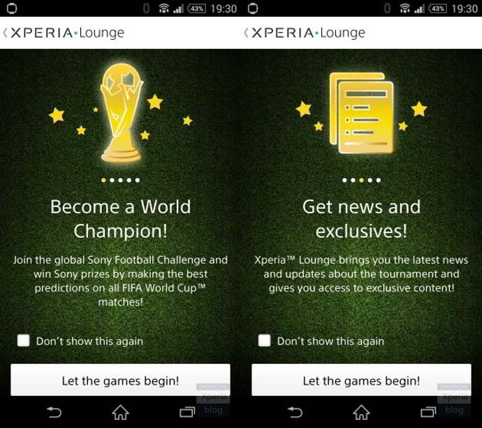 sony football challenge android