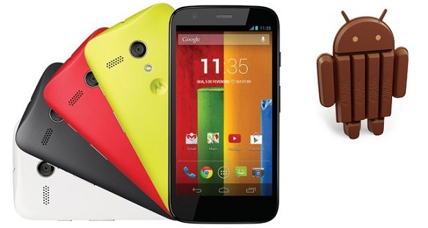 Moto G Android 4.4.4