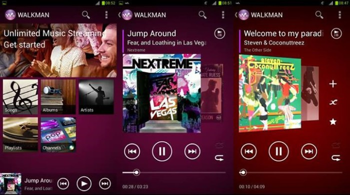 Walkman-sony-xperia-z2-android