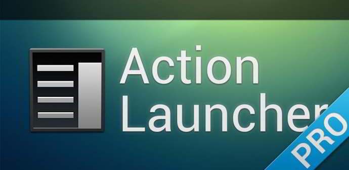 action launcher beta android