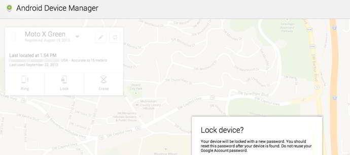 android 4.5 device manager