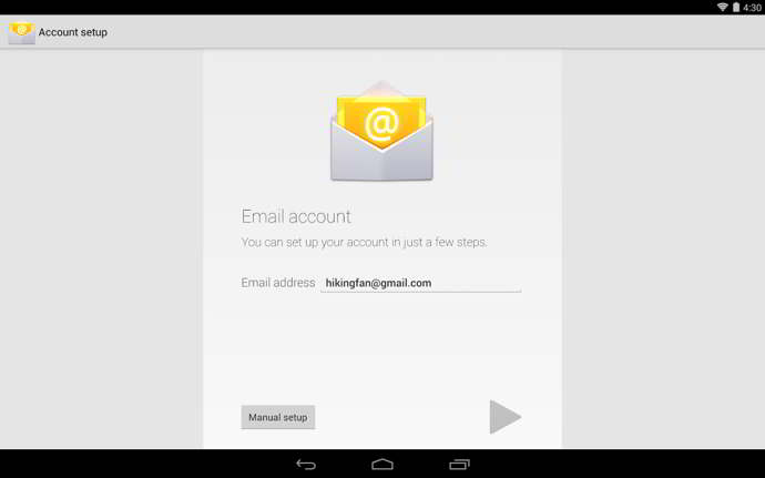 google email android