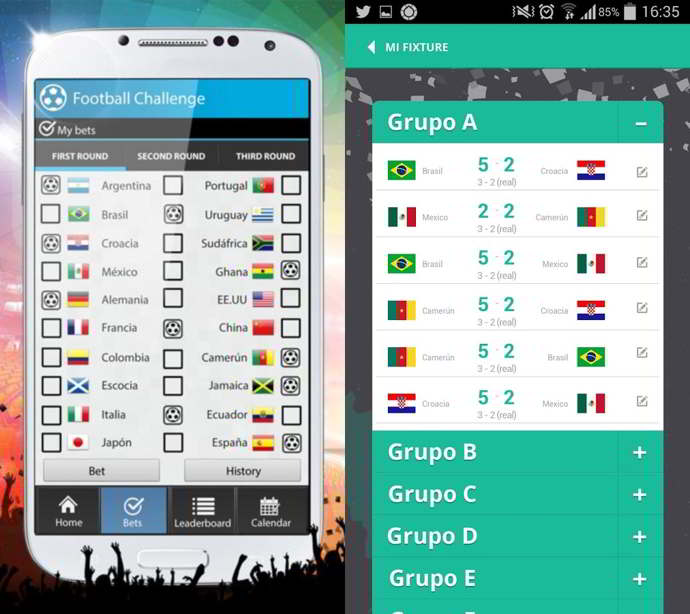 prode mundial 2014 android