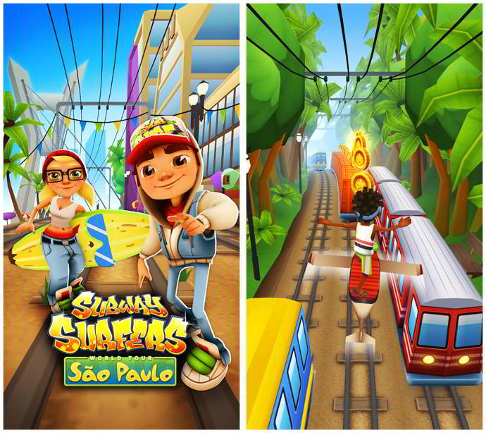 subway surfers brasil android