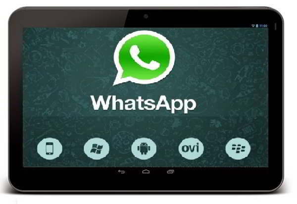whatsapp android tablets
