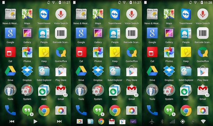 xposed xtended navbar android