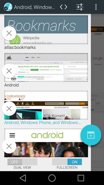 atlas web browser android