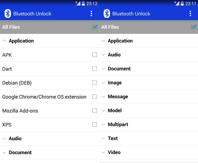 bluetooth unlock android