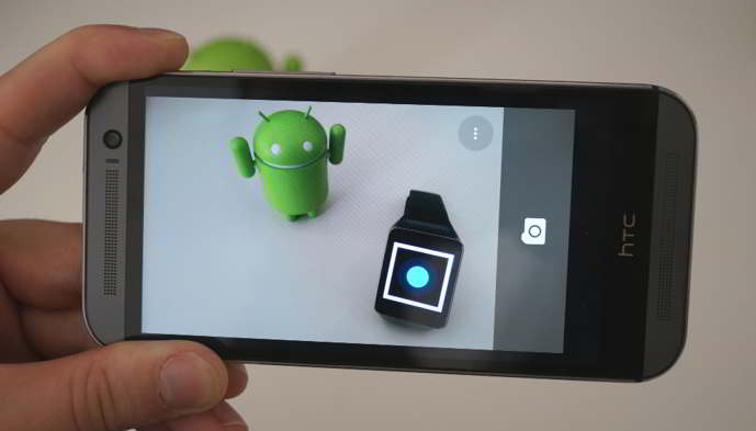 camara de google android wear