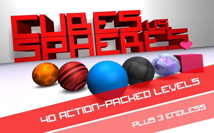 cubes vs. spheres android