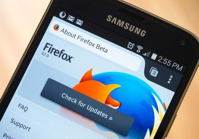 firefox beta v32 android