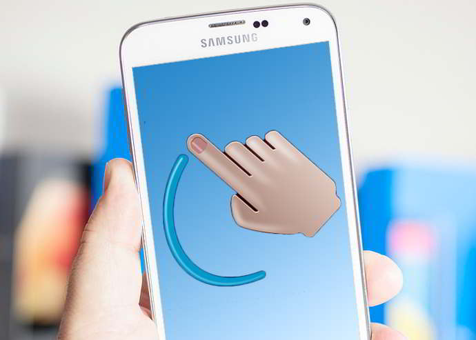 google gesture search android
