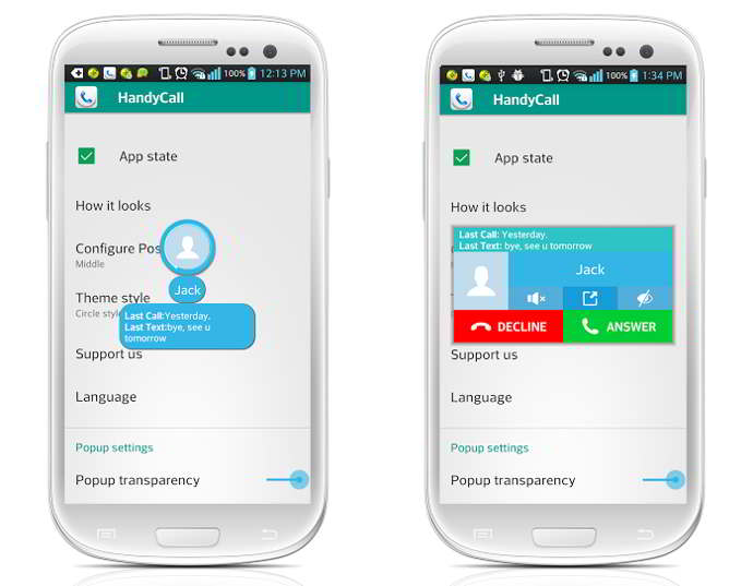 handycalls android