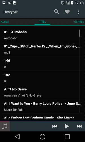 henry music player android