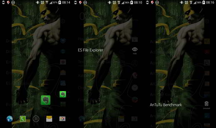 nokia z launcher android