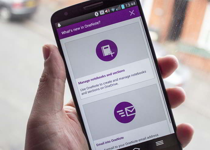 onenote beta android