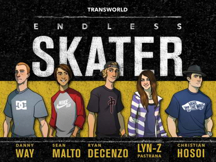 transworld endless skater android