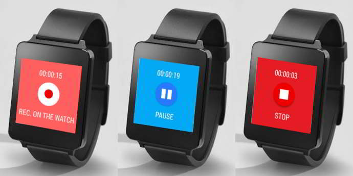 wear audio recorder android