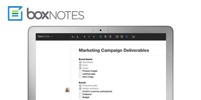 box notes android