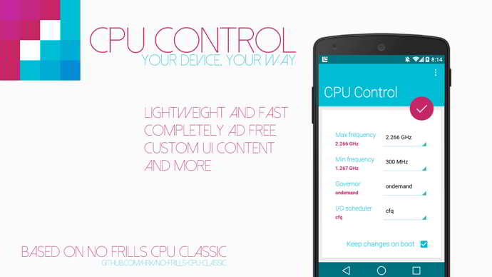 cpu control android