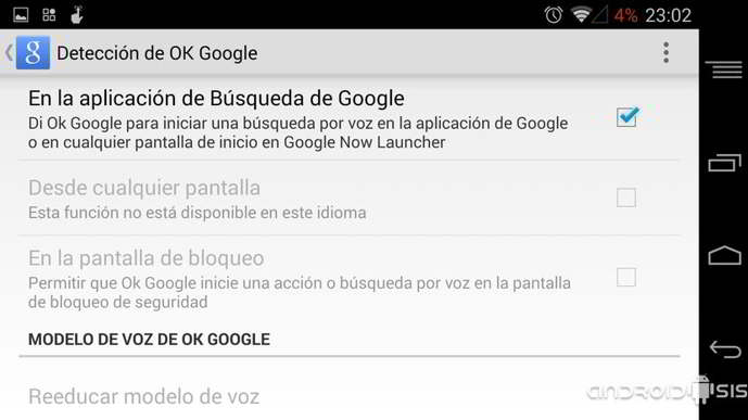 google now launcher compatibilidad android